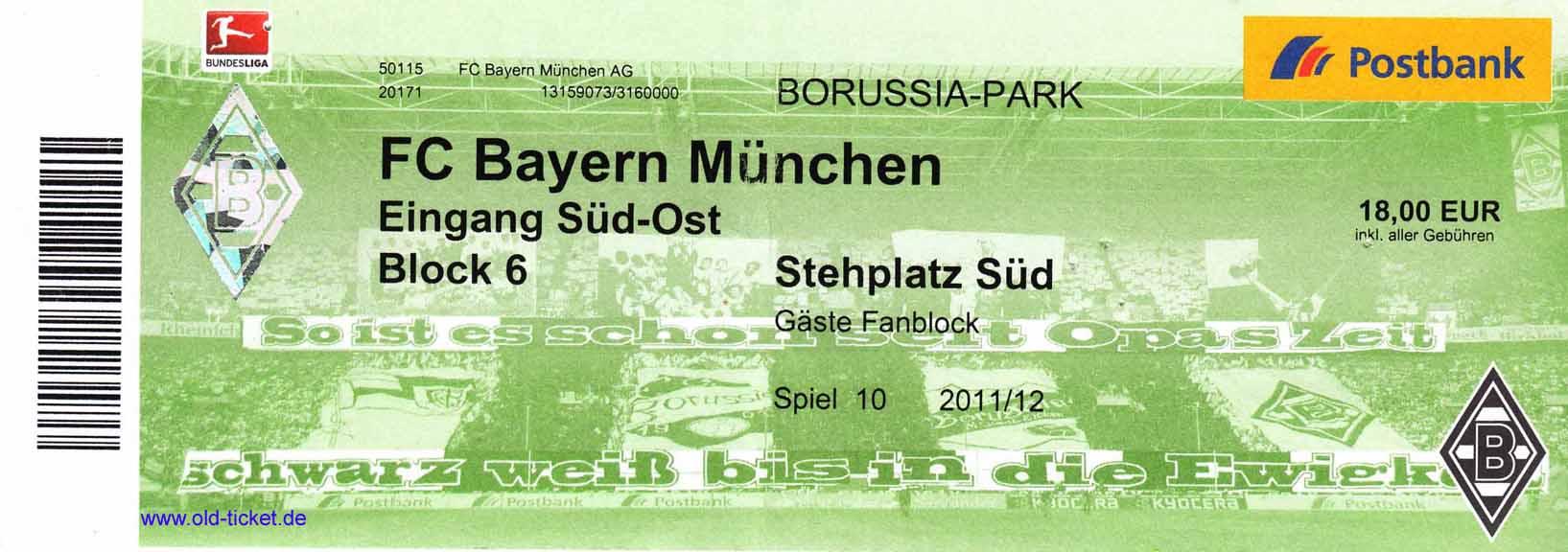 Tickets Gladbach Schalke