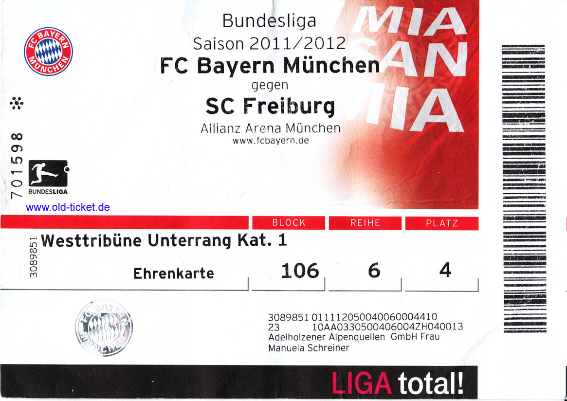 Fc Freiburg Tickets