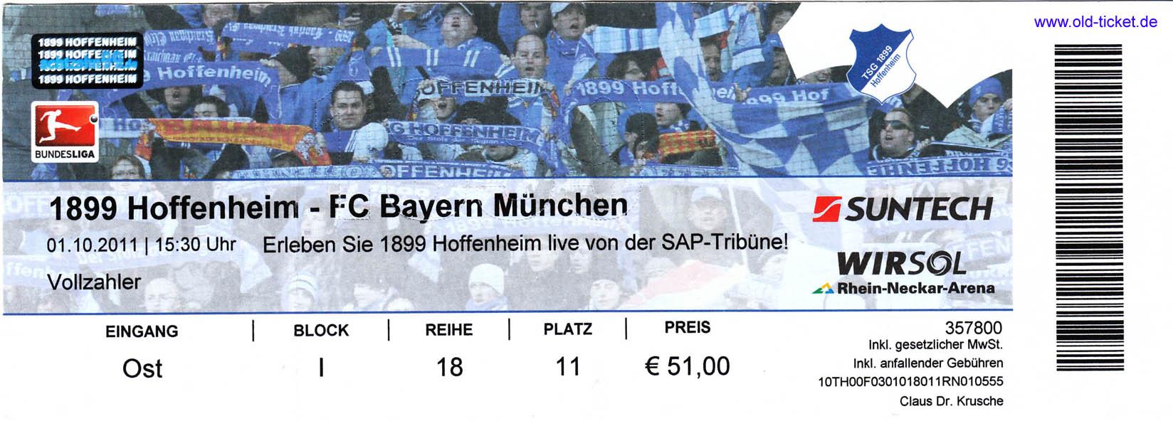 werder bremen hoffenheim tickets